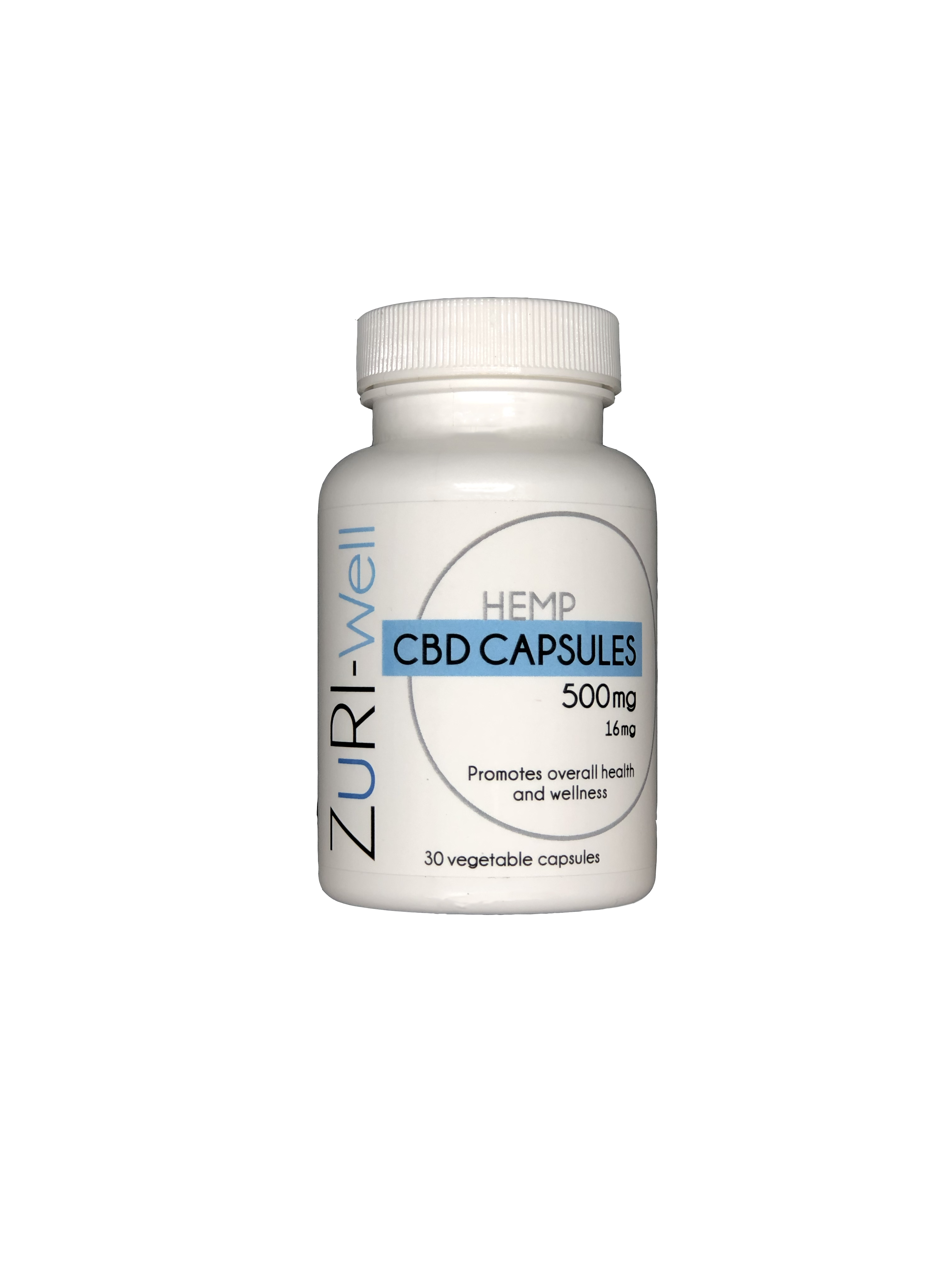 Daily 500mg CBD Capsules (30 Count)