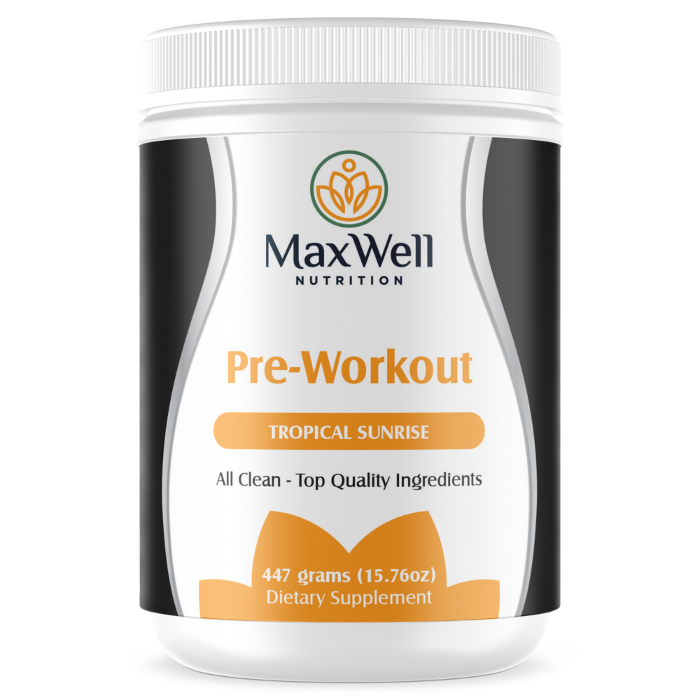 MaxWell Nutrition Tropical Sunrise Pre-Workout